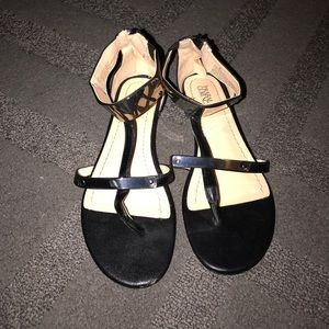 Back sandals