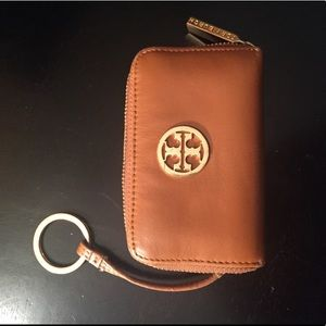 Tory Butch Key Holder/Card and Change Purse/Wallet