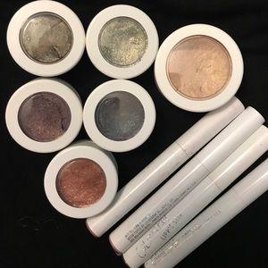 Colourpop LOT of Eyeshadow highlighter Lippie Stix