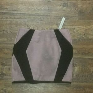 Mustard Seed black and pink skirt sz M NWT