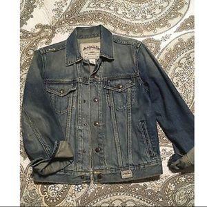 Abercrombie boys denim jacket. Size M Women's 4/6