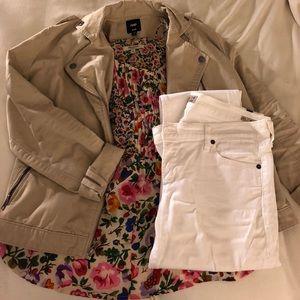 C.O.H. White Skinny Jeans