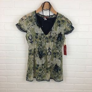 Tapemeasure NWT Anthropologie Blouse