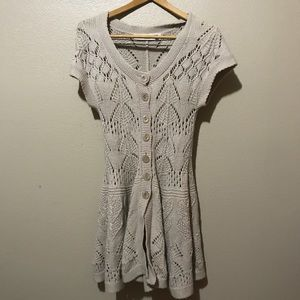 Anthropologie Sparrow sweater dress size small