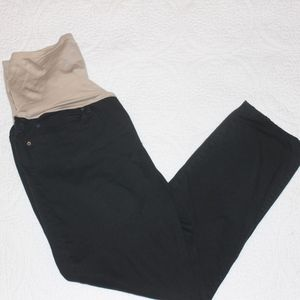 Gap Maternity Black Legging Jean - Sz 10 Crop