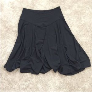 Apostrophe STRETCH circle skirt black