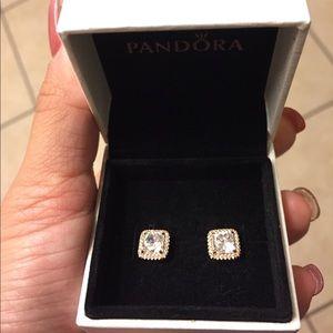 Pandora Rose Timeless Elegance Earrings!