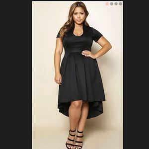 Dresses & Skirts - Black hi low dress!