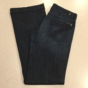 7 For All Mankind Jeans 32X36 Dojo New York Dark!