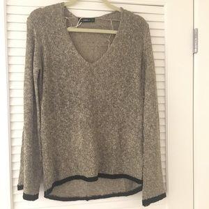 Zara bell sleeve light weight sweater size S