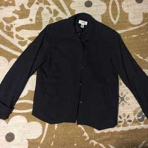 Talbots Black Jacket