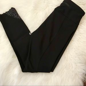 Lululemon Black Tight Stuff Tight I (Size 2)