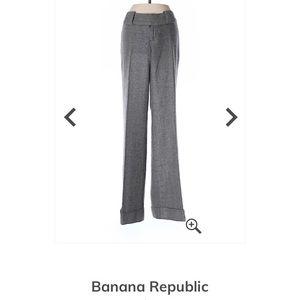 Banana Republica wool pants