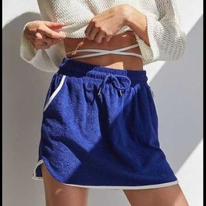 Urban Outfitters Terrycloth Mini Skirt Medium