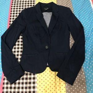 F21 navy blazer