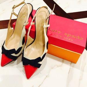 Kate Spade JOJO Bow Heels