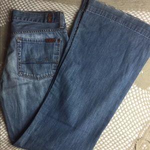 7 for all mankind medium wash dojo jeans