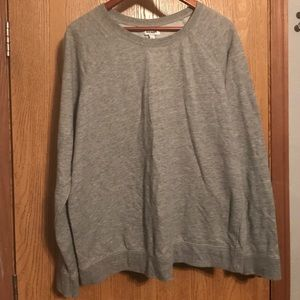 Old Navy grey crew neck sweatshirt