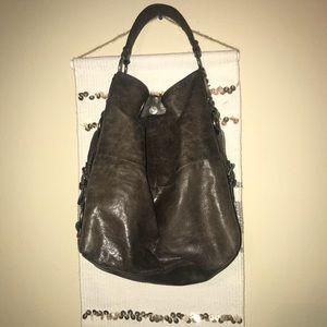 Brown Tano bucket purse