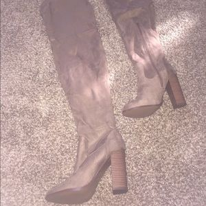 Charlotte Russe over the knee boot