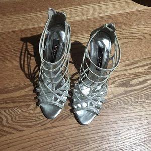 Nina Silver Heels
