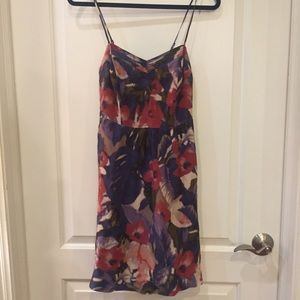 Anthropologie Floral Dress with Pockets!