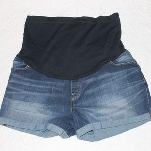Liz Lange Maternity Denim Shorts - Sz Large