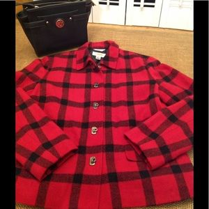 Talbots Buffalo Plaid Jacket