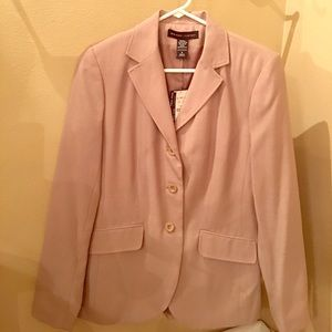 Beige business blazer