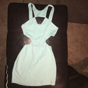 Nasty Gal strappy cut out dress