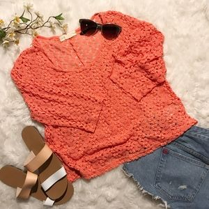 Urban Outfitter's Staring at Stars Crochet Top