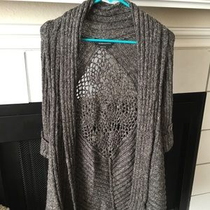 BCBG Brown Sweater Cardigan