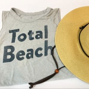 "Lucky Brand ""Total Beach"" Muscle Tank size xs"