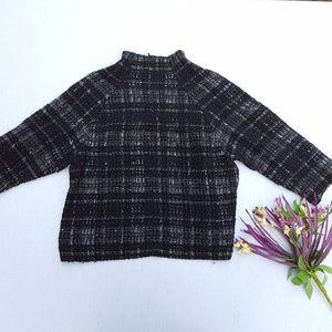 Zara Woman Zip Pullover Sweater