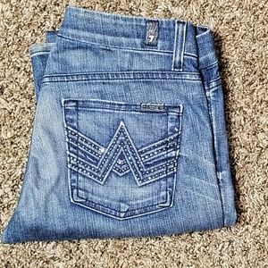 7 for all mankind A pocket boot size 20