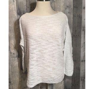 Lou & Grey light knit long sleeve.