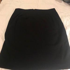 Skirt size 10 black vest atelier