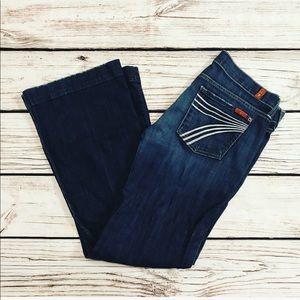 7FAM Dojo Flip Flop Jeans 30