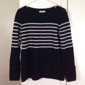 Madewell Stripe Sweater Large