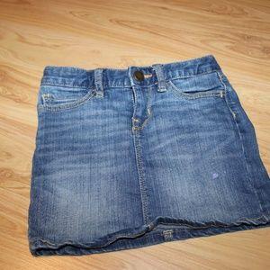 Gap Kids jean skirt