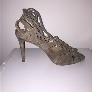 "Banana Republic Lace Up 3.5"" Heels"