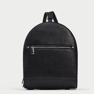 Zara sturdy backpack with zips