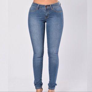 Light Indigo Jeans