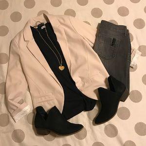 Topshop Blush blazer