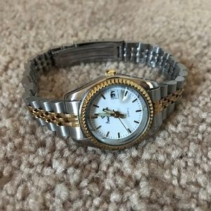 PRIMIER DESIGN Women Watch Vintage Gold and Silver