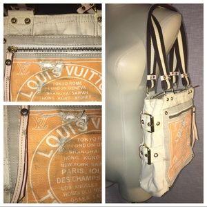 Louis Vuitton Trunks Bags canvas purse authentic