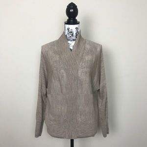 ALL SAINTS Trey Merino Wool Pullover in Natural