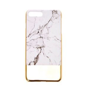 Marble iPhone gold case