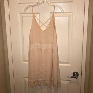 *NEVER WORN* Nasty Gal Blush Pink Summer Dress