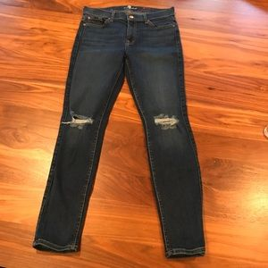 7 for all Mankind skinny Ankle Jeans